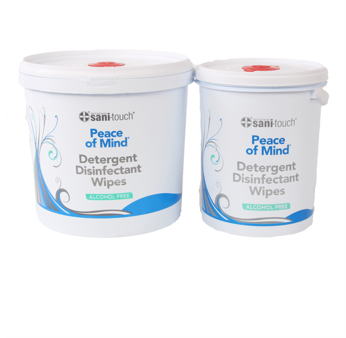 Alcohol free recyclable wipes