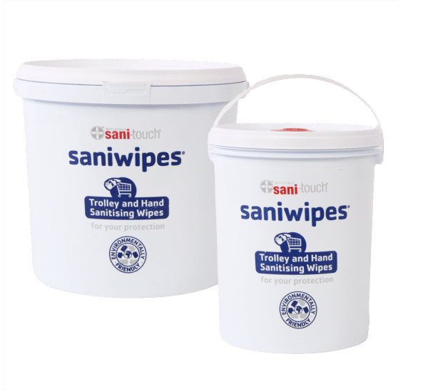 Saniwipes Detergent Disinfectant biodegradable wipes