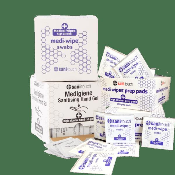 Sachets, Swabs & Prep pads